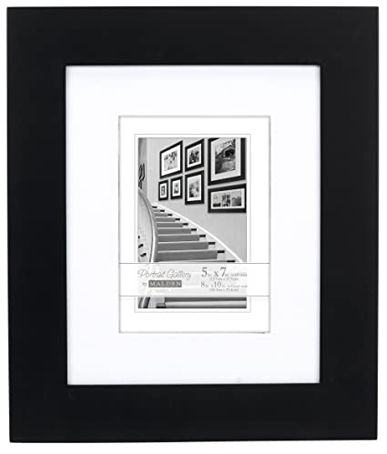 Amazon.com - Malden 8x10 Matted Picture Frame - Made to Display ...
