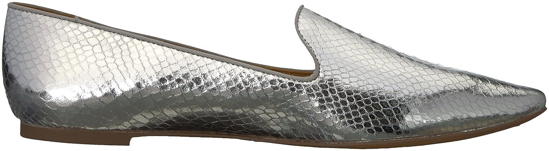 Franco Sarto Women's SADIA2 Ballet Flat B0742VM3P5 5 B(M) US Silver