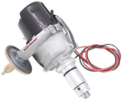 Vacuum advance distributor hook up
