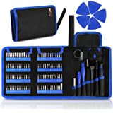 Kaisi 126 in 1 Precision Screwdriver Set with 111 Bits Magnetic Driver Kit Professional Electronics Repair Tool Kit for Repai