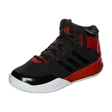 chaussure adidas noir rouge