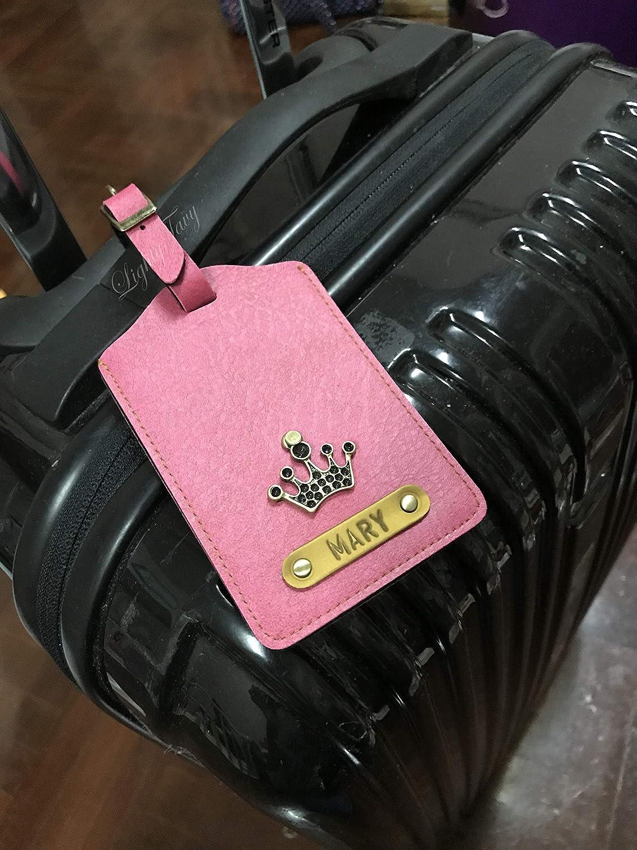 cbad02fbc3f1 Amazon.com: Personalized/Customised Luggage Tag: Handmade