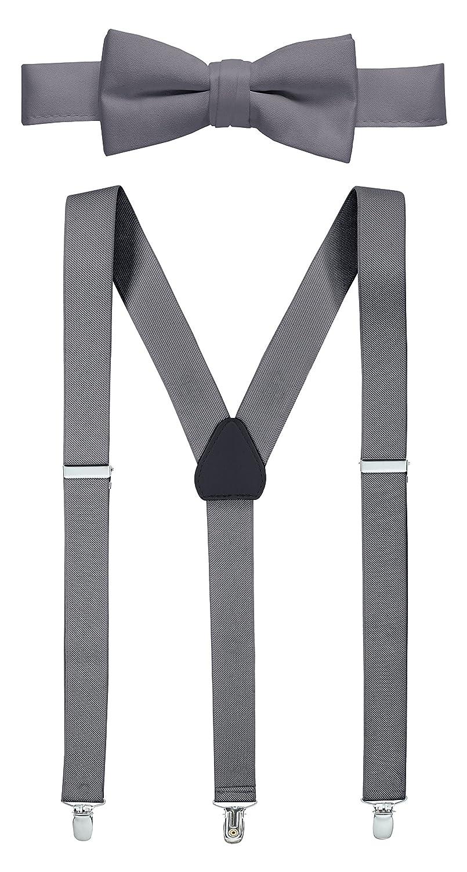 HOLDEM Set de tirantes y corbata para hombre De altura - 54