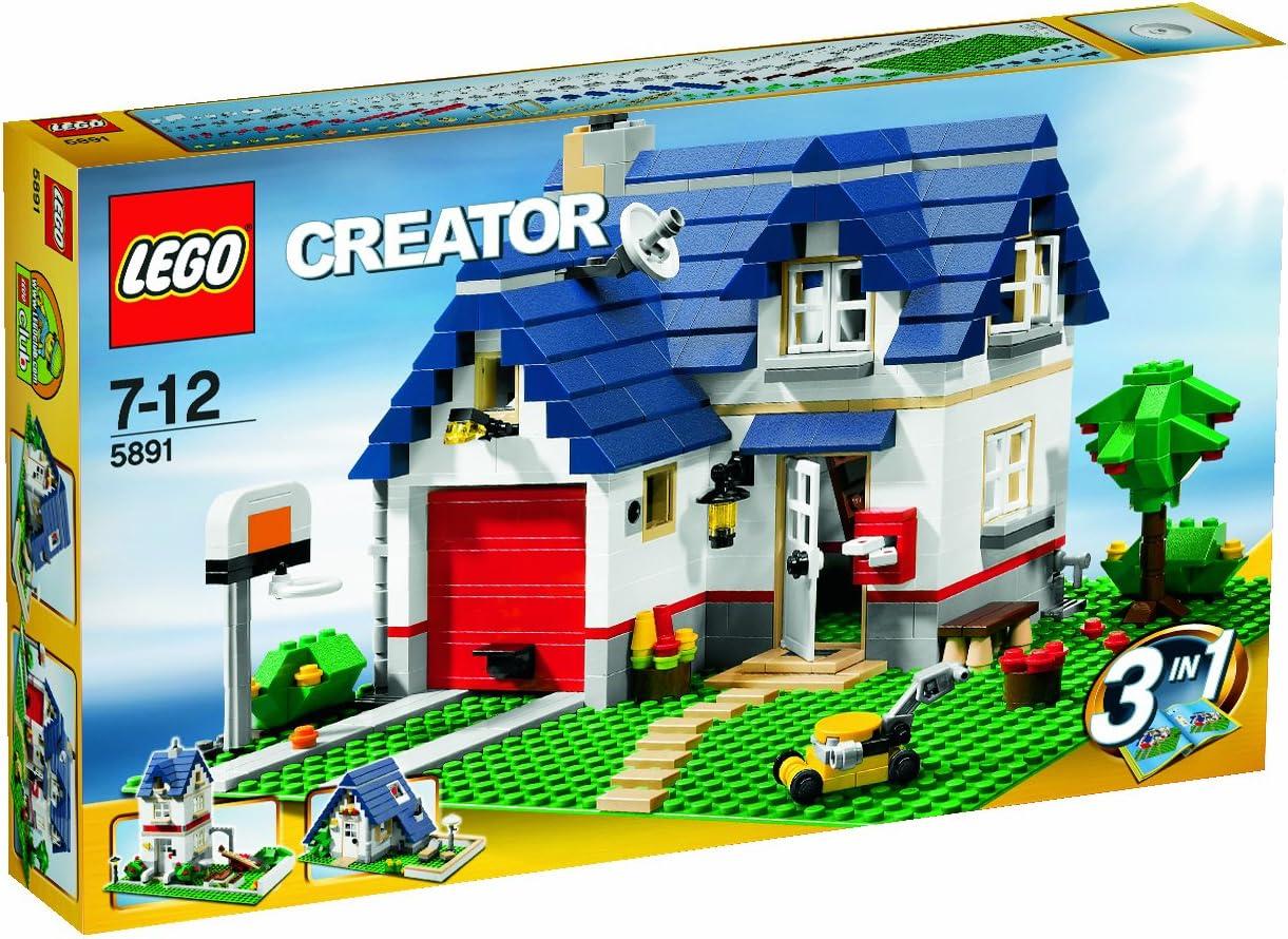 INSTRUCTION MANUALS for Lego Creator Set #5891