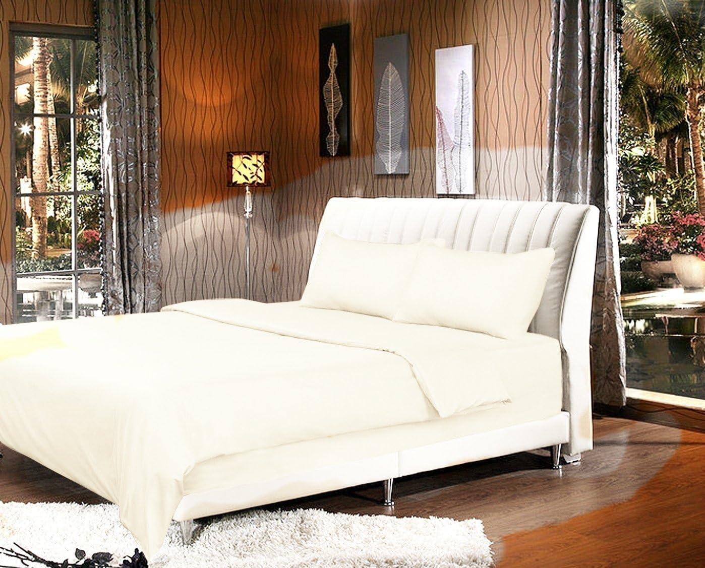 Tache Home Fashion Cloud White Duvet Cover, King