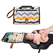 Cocoon Kids Portable Changing Pad - Diaper Changing Pad Portable Clutch. Baby Changing Pad or Diaper Changing Pad Can Be Used as a Diaper Bag for Easy Travel. Changing Mat - Perfect for Baby Shower