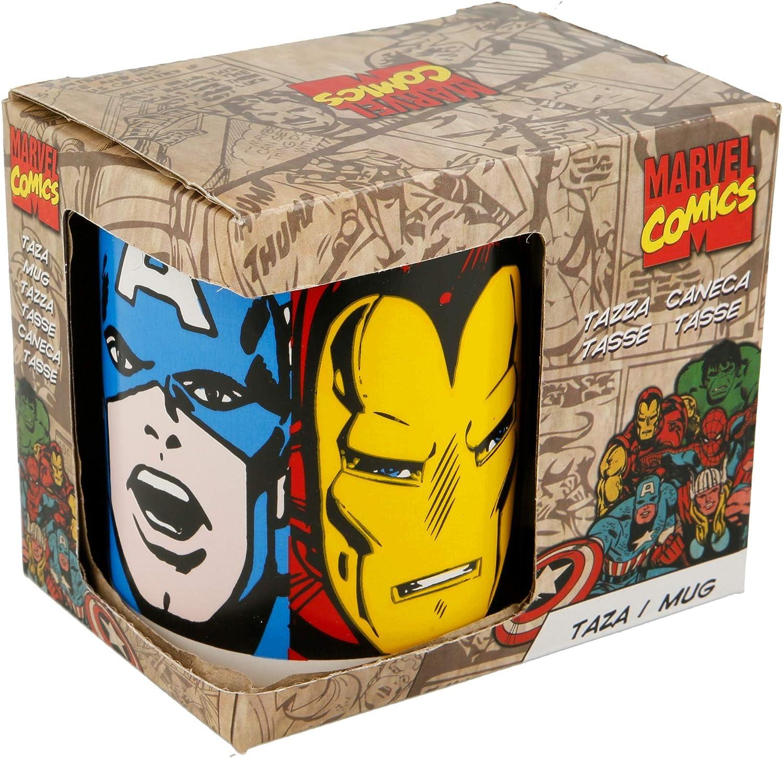 Taza de cerámica de Marvel Comics 78407: Amazon.es: Hogar