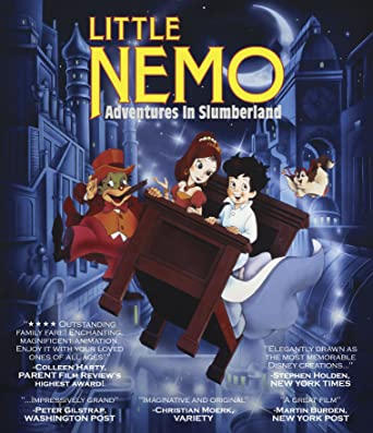 little nemo adventures in slumberland blu ray