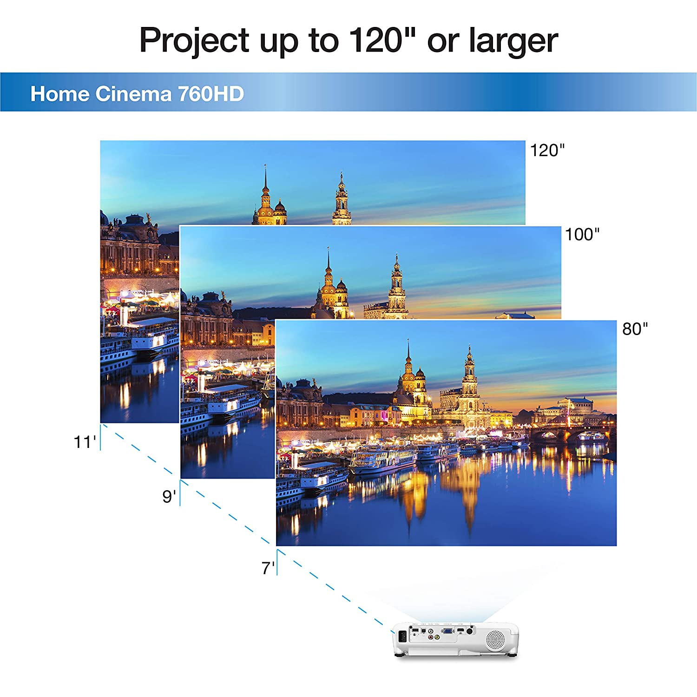 Amazon.com: Epson Home Cinema 760HD 720p 3,300 lumens color ...