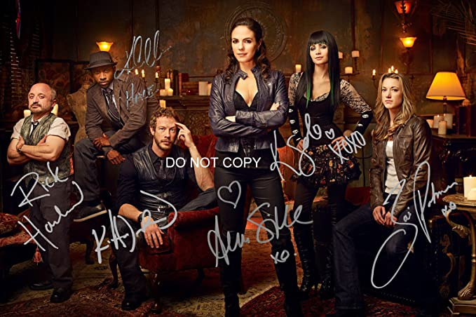 Lost Girl tv show reprint signed cast 12x18 poster photo by 6 Anna Silk + RP