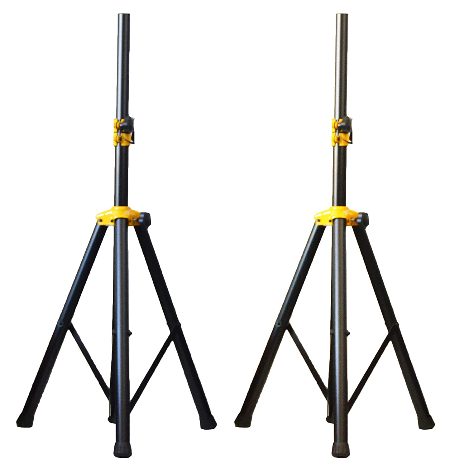 speakers on stands. amazon.com: pair of ignite pro deluxe series heavy duty tripod dj pa speaker stands adjustable height: musical instruments speakers on