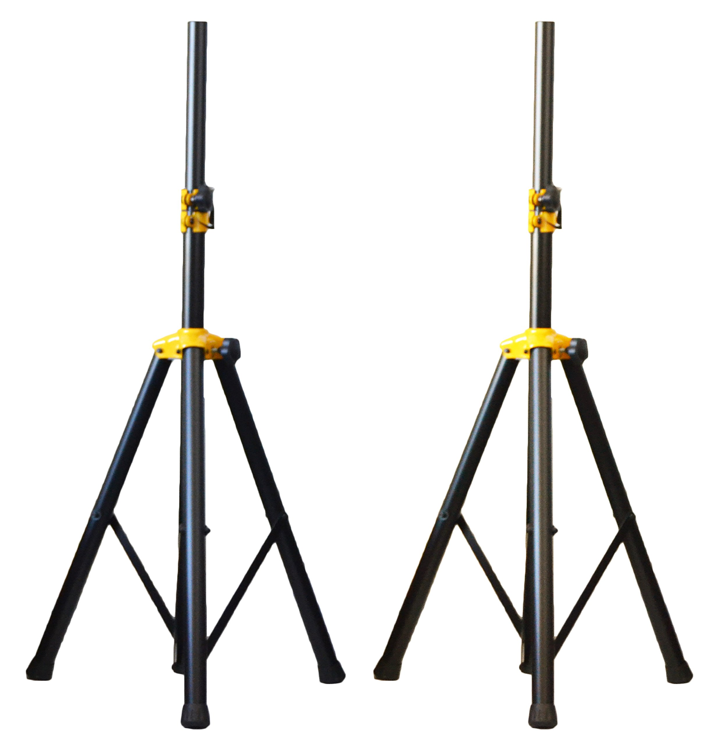 2X Ignite Deluxe Series Heavy Duty Tripod DJ PA Speaker Stands Adjustable - Pair by Ignite Pro