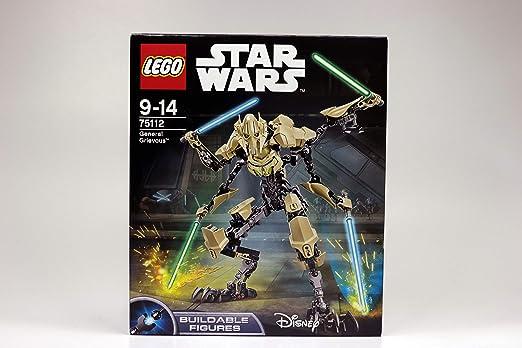 General Grievous Star Wars Jedi Dark Side Mini Figure Toy AU Fits with lego