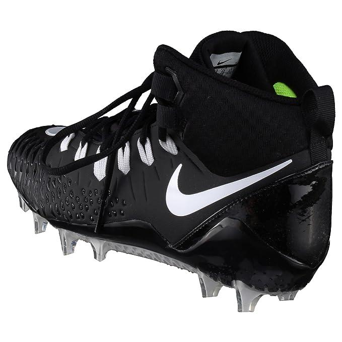 more photos bb6fb f3d6e Nike Force Savage Pro TD Wide, Largeur Football Chaussures - Noir:  Amazon.fr: Sports et Loisirs