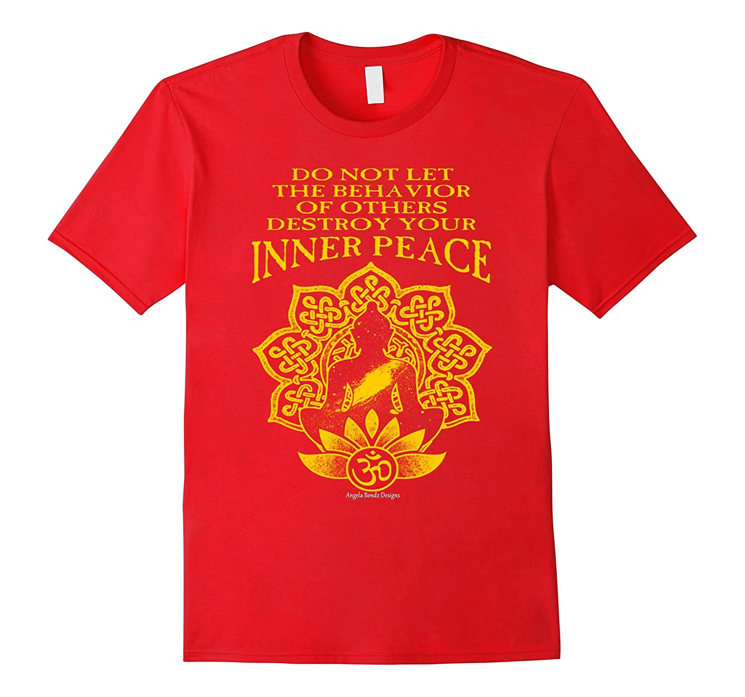 Inner Peace Inspirational Motivational Quote T Shirt Td Teedep