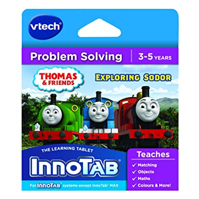 VTech InnoTab Game - Thomas and Friends Exploring Sodor: Toys & Games