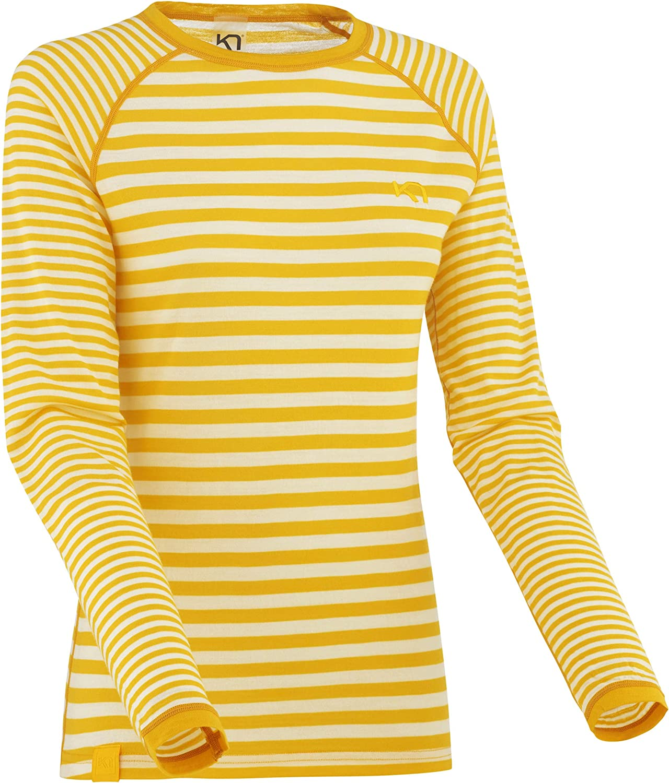 Kari Traa Women's Smale Long Sleeve Shirt - Super Soft 100% Merino Wool Baselayer Top