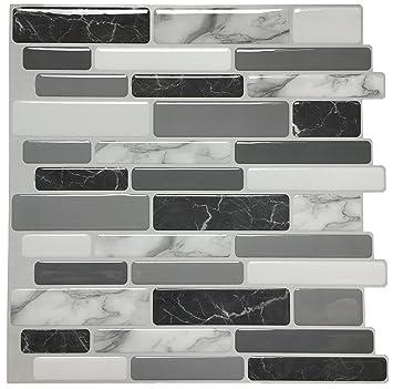 Art3d Peel and Stick Wall Tile for Kitchen Backsplash, 12\