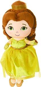 "KIDS PREFERRED Disney Princess Belle 12"" Plush Doll with Sounds"