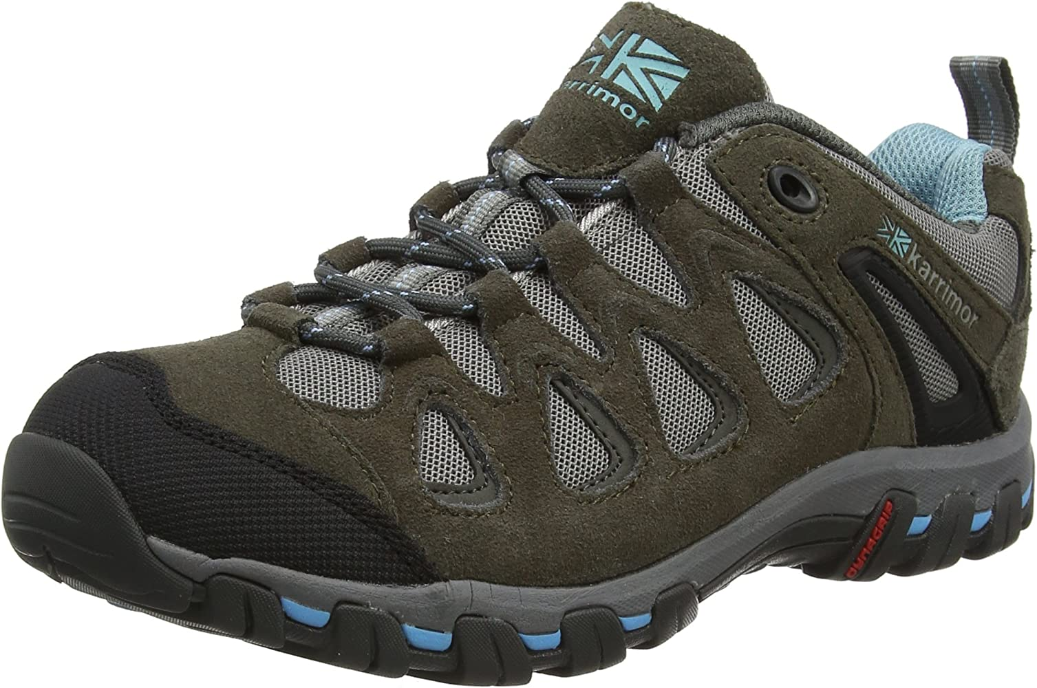 Ladies Low Rise Hiking Boots, Grey