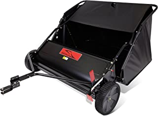 product image for Brinly STS-427LXH 20 Cubic Feet Tow Behind Lawn Sweeper, 42-Inch
