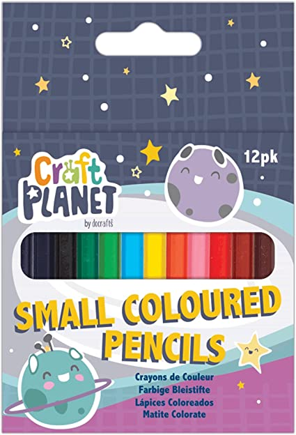 Docrafts Craft Planet 12 Colour Modelling Clay CPT658010