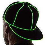 NEON NIGHTLIFE Light Up Snapback Hat Boys & Girls LED Baseball Accessory