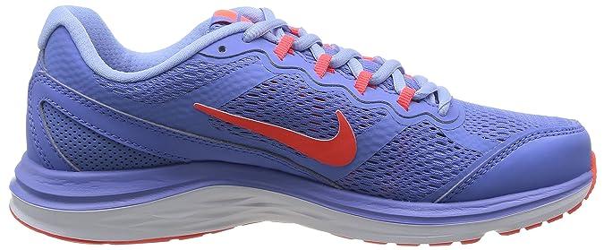 Nike Wmn Dual Fusion Run 3 MSL - Zapatillas para Mujer, Polar/Brght crmsn-almnm-White, Talla 38