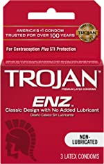 Trojans Non-Lubricated Condoms - 3 Ea/Pack, 3 Pack