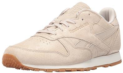 589873dd047 Reebok Women s Classic Leather Clean Exotics Fashion Sneakers  Amazon.ca   Shoes   Handbags