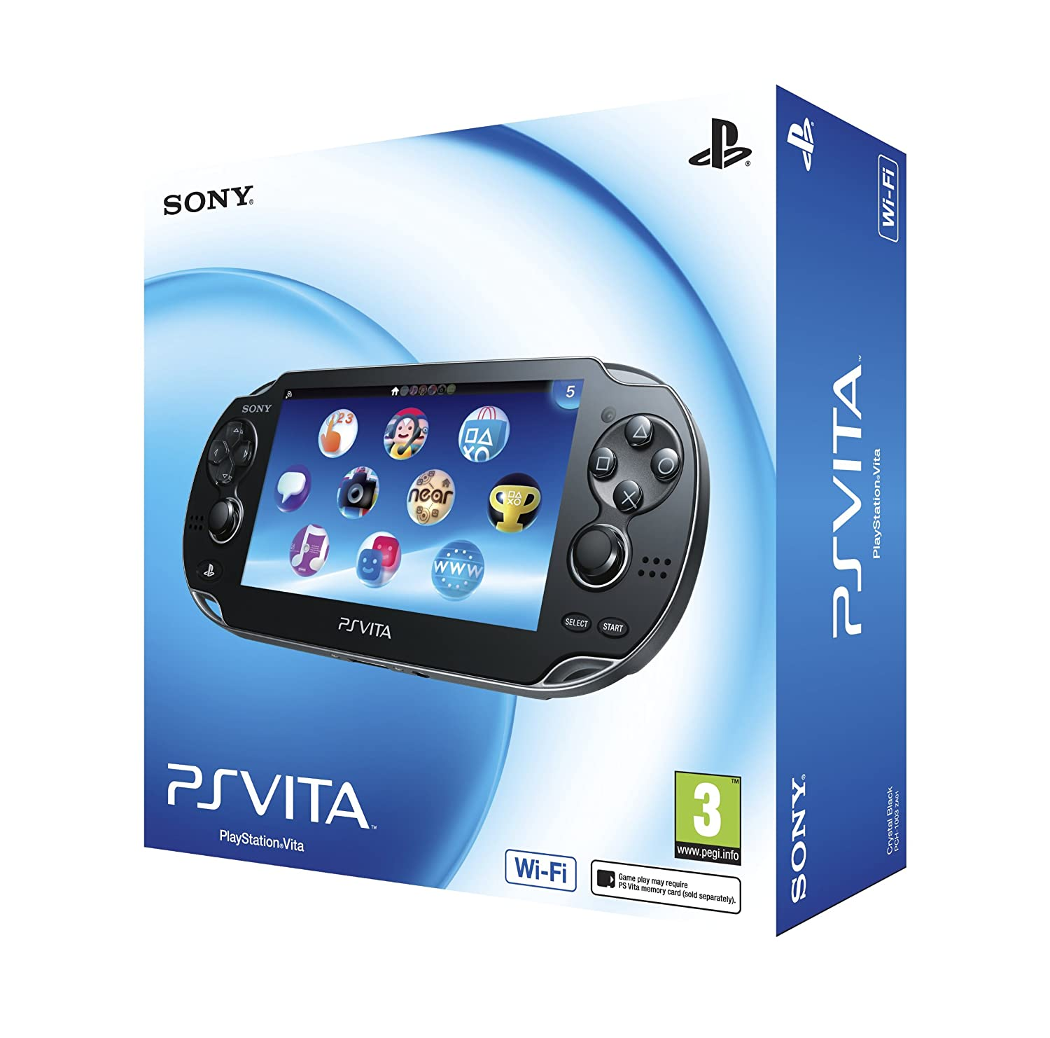 Sony PS Vita (Wi-Fi only) (PlayStation Vita): Amazon co uk: PC
