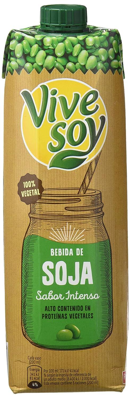 Vivesoy - Bebida de Soja sabor Intenso - 1 L: Amazon.es ...