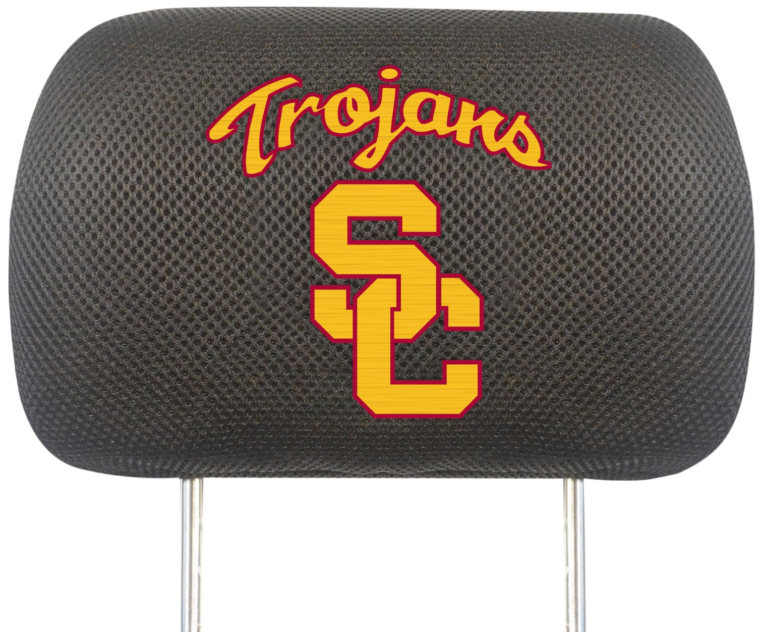 FANMATS NCAA Univ of Southern California Trojans Polyester Head Rest Cover