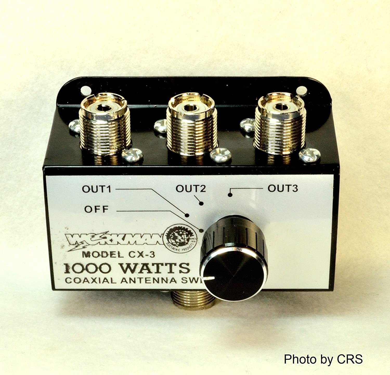Twinpoint CX3 1000 Watt 3 Position Coaxial Antenna Switch