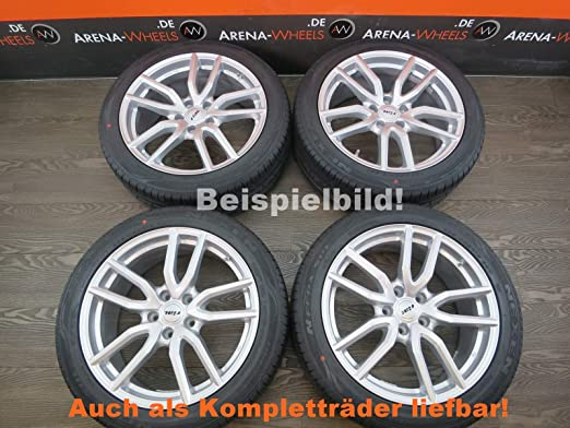 4 llantas de aluminio RIAL TORINO 17 pulgadas para Auris Avensis C-HR Camry Corolla Verso RAV4 Torino: Amazon.es: Coche y moto