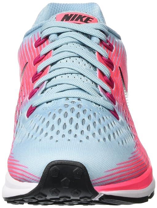 Amazon.com   Nike Womens Air Zoom Pegasus 34 Running Shoe Blue   Road Running