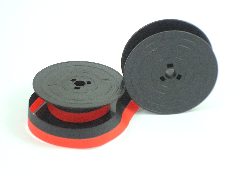 Cinta de tinta de máquina escribir Olivetti GR4 - Rojo y Negro: Amazon.es: Industria, empresas y ciencia