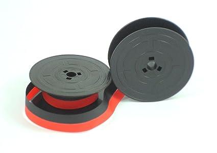 Cinta de tinta de máquina escribir Olivetti GR4 – Rojo y Negro