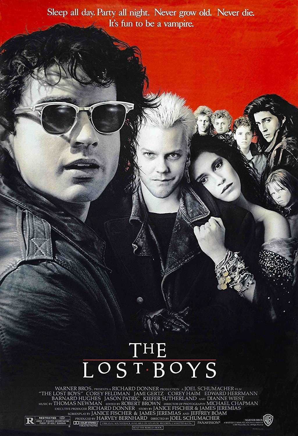 Amazon.com: Poster The Lost Boys (1987) Movie 24x36: Posters & Prints