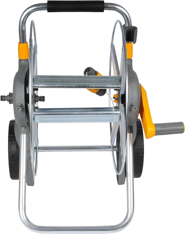 Hozelock Pro Metal Cart with 30m Hose