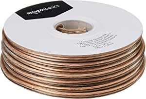 AmazonBasics 14-Gauge Audio Stereo Speaker Wire Cable - 100 Feet