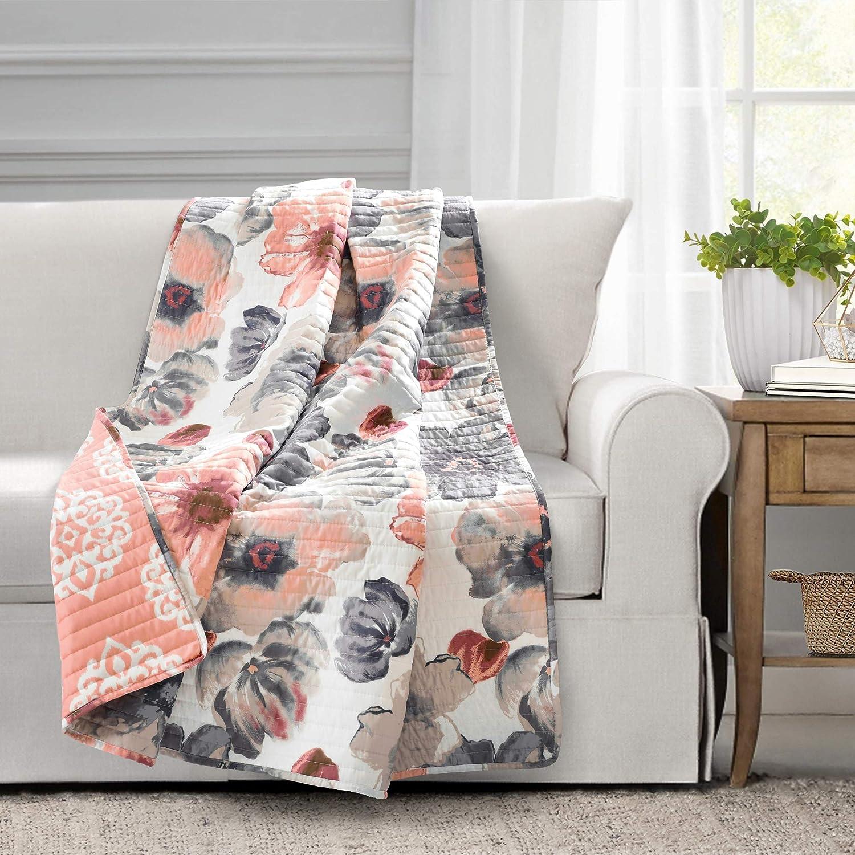 Lush Decor Leah Throw Blanket, 60