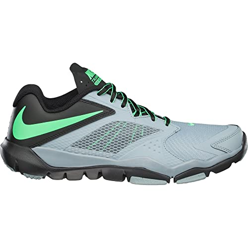 Nike Men s Flex Supreme TR 3 Running Shoes Dove Grey Black Poison Green 14  D(M) US  Buy Online at Low Prices in India - Amazon.in c81495c0d