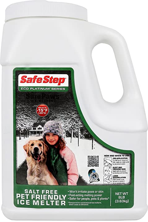 Amazoncom Safe Step Pet Friendly Salt Free Ice Melter