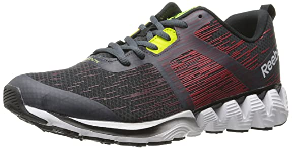 Reebok Men s Zigkick Force Running Shoe Graphite Red Rush Black White Rustic  Wine Black Semi Solar Yellow 8 D(M) US  Buy Online at Low Prices in India  ... d892065e7