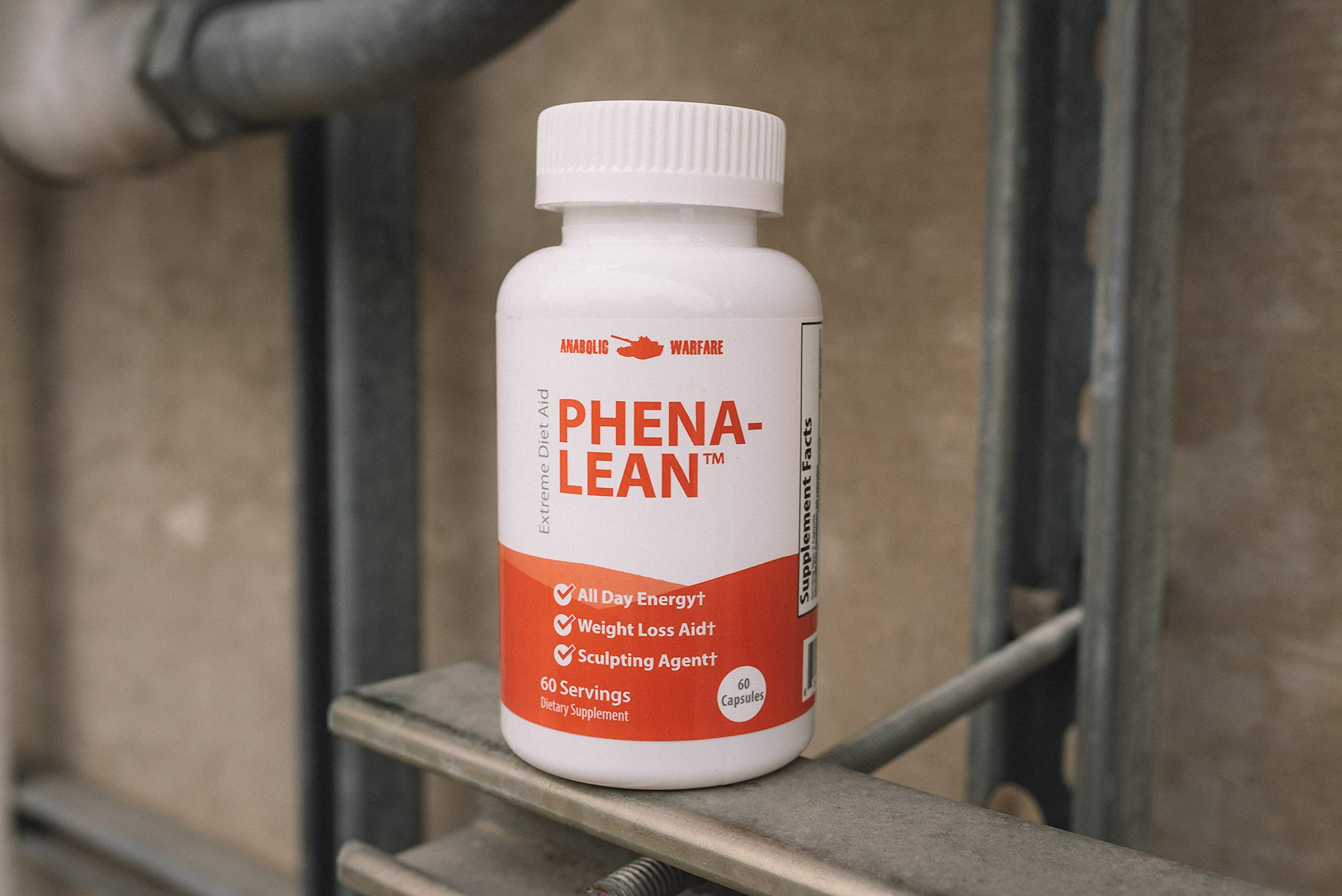 Phena-Lean Thermogenic Fat Burner Supplement by Anabolic Warfare - Aids Weight Loss Efforts, Boosts Energy and Focus (60 Capsules) by Anabolic Warfare (Image #3)