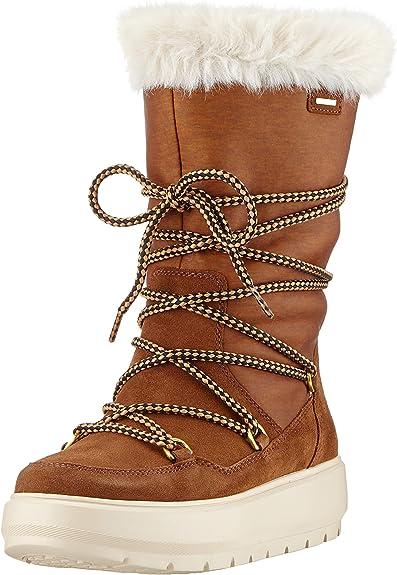 antena en términos de recuerda  Geox D Kaula B ABX C, Botas de Nieve Mujer: Amazon.es: Zapatos y  complementos