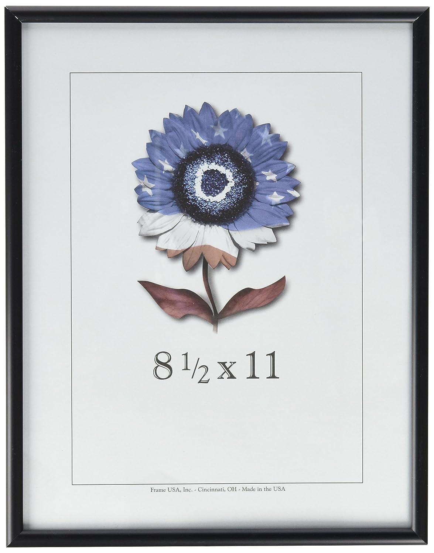 Amazon 85x11 matte silver metal picture frame single frames jeuxipadfo Images