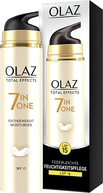 olaz total Effects ligera Día Cuidado LSF 15, 1er Pack (1 x 50 ml ...