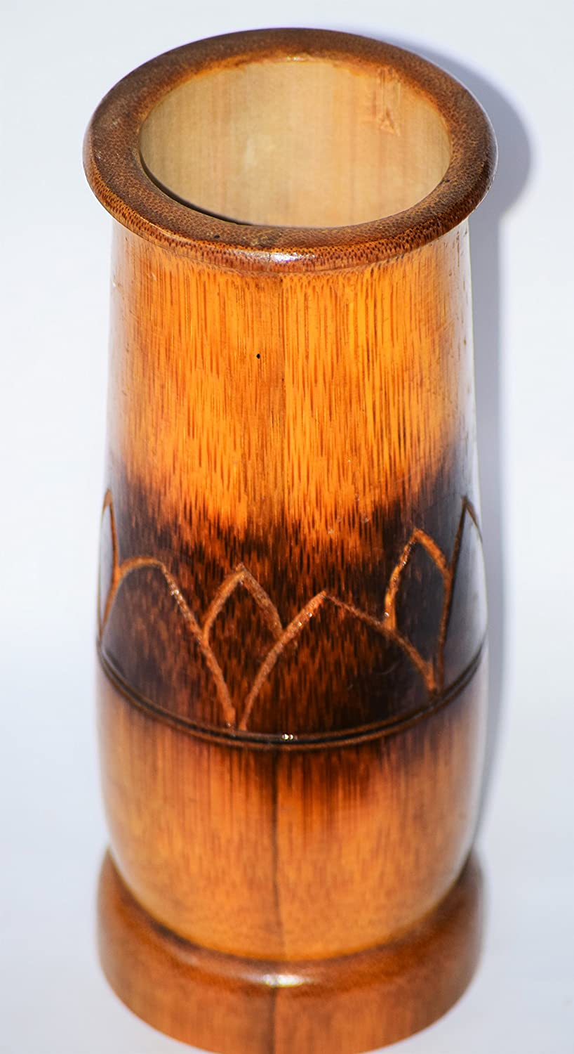 DC ECO Flower, vase Bamboo product,from CR PAUL. with out flower.